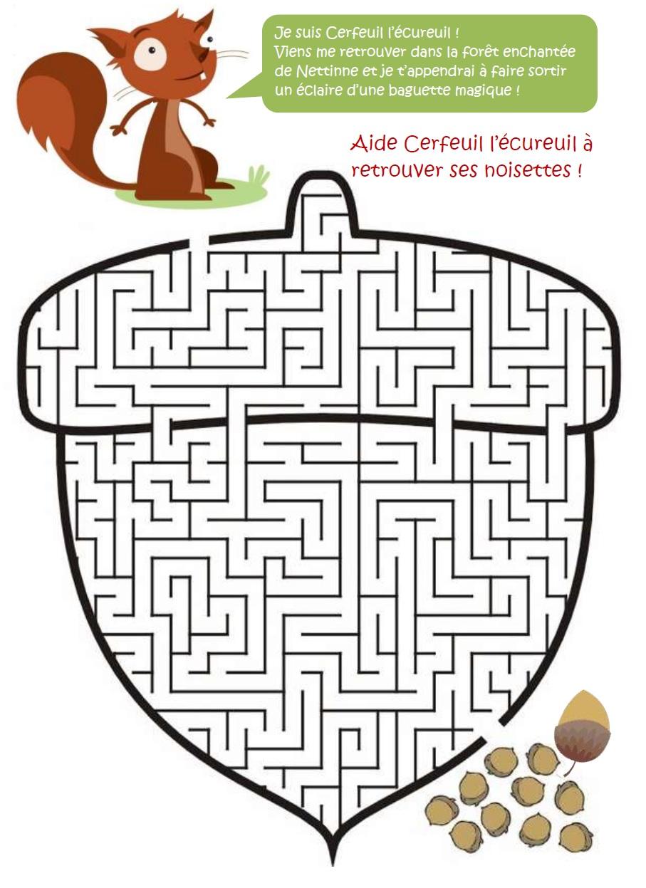 Labyrinthe-écureuil